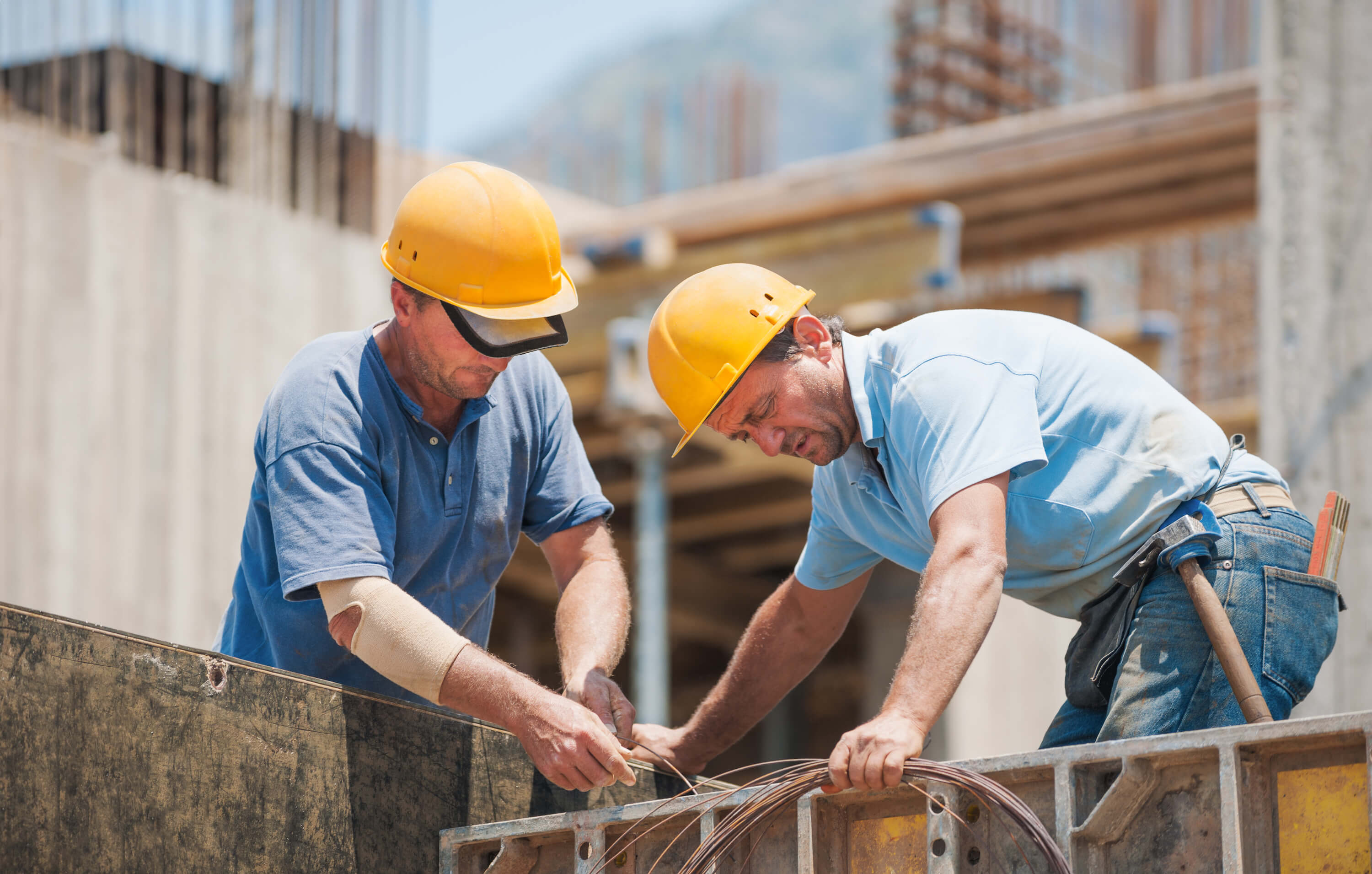 general contractor on a commercial site in Rothschild and Wausau