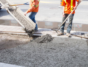 Concrete company pouring cement in Wausau and Rothschild WI